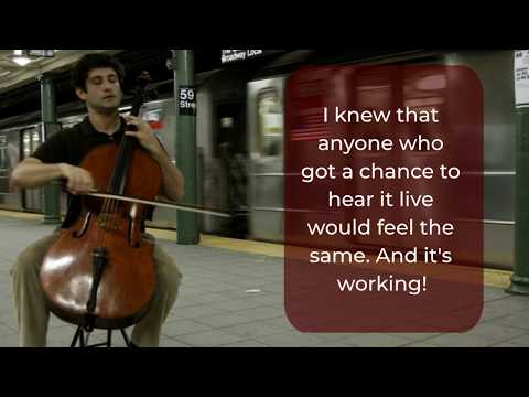 Famous Cellist Dale Henderson on What Motivated Him to Start Bach in the Subways