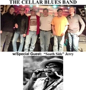 THE CELLAR BLUES BAND w/SOUTH SIDE JERRY @ PIZZAZ ITALIAN RESTAURANT