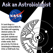 Ask an Astrobiologist with Dr. Laurie Barge - October 23rd