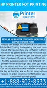 Gets exclusive remedy of HP Printer Not Printing via our support team