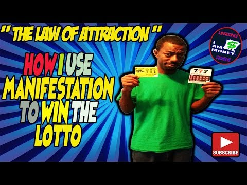 HOW TO MANIFEST WINNING THE LOTTERY | FAST AND EASY