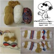 Snoopy-Socken