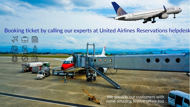 Booking Flight ticket by calling our experts at United Airlines Reservations