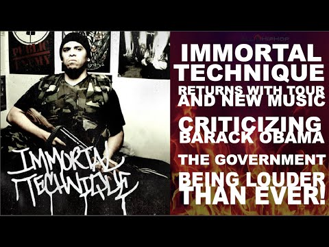Immortal Technique Goes Back To Battle Rap, Still Hardcore & Political - New Music & Tour