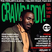 Crawdaddy! with guest DJ Jan Twosugars