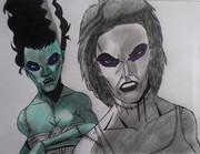 Frankenstein Bride and Cambre