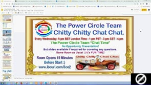 Power Circle Team Chitty Chitty Chat Chat Webinar Replay 25th Sep 2019