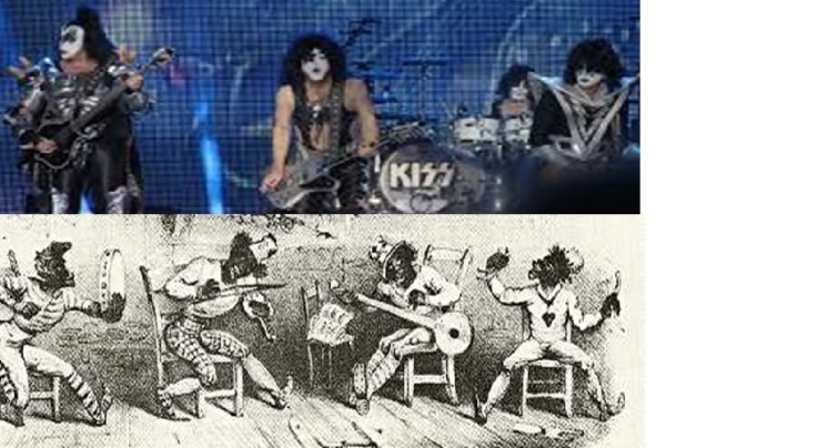 Kiss and the Virginia Minstrels double bill