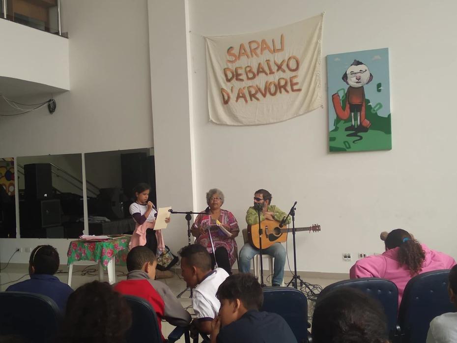SARAU AFRO DEBAIXO D'ARVORE  NO DIA  23 DE MAIO DE 2019