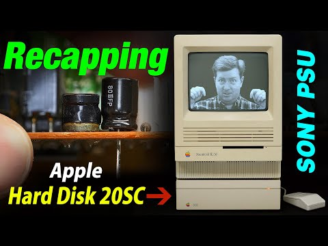 Apple Hard Disk 20SC SCSI Drive Recap