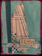 affirmation card light