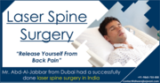 Best Laser Spine Surgery – Dubai patient Abd-al-Jabbar Gets Back His Life