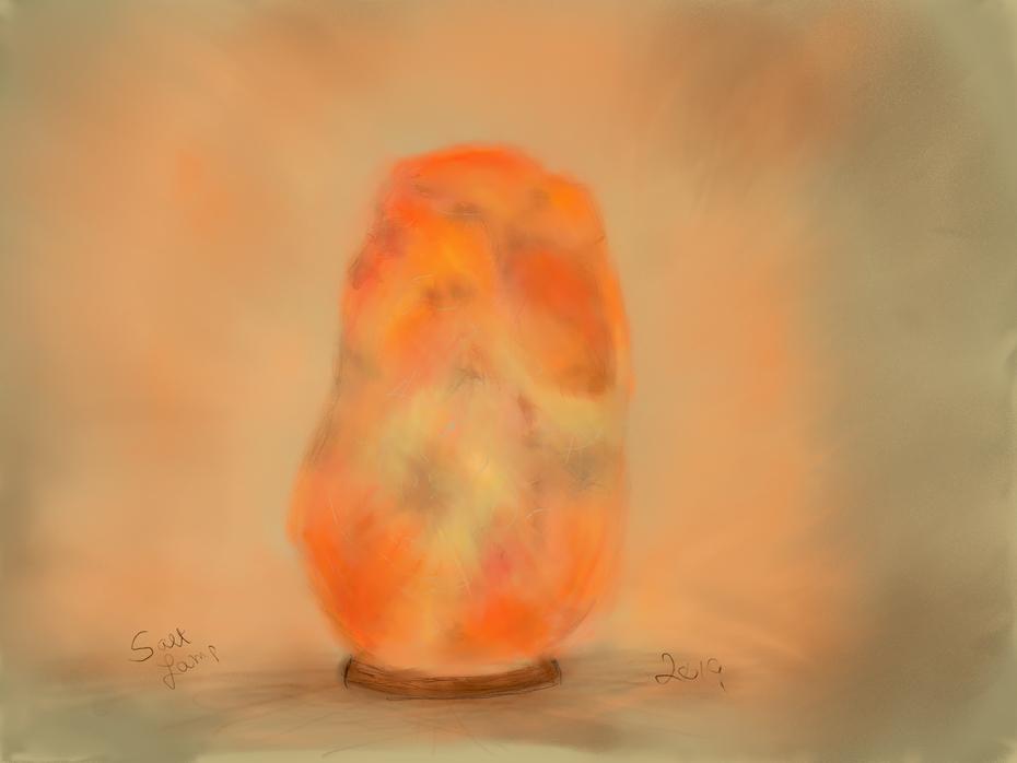 Salt Lamp ipastels