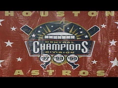 Astros Clinch Division in Last Astrodome Game