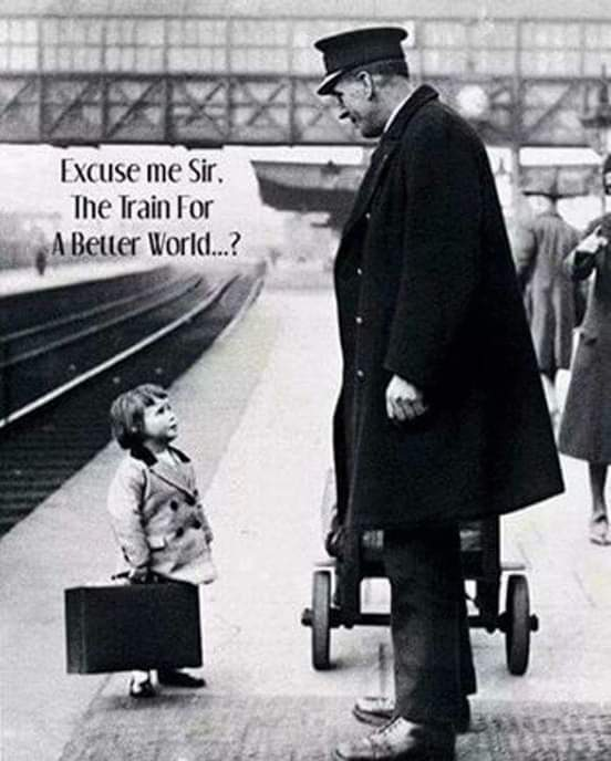 Train to a better world