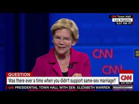 """Puke Alert: Elizabeth Warren Sings """"Jesus Loves the Little Children"""""""