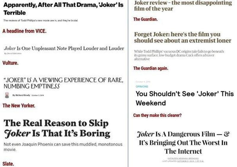 Media NPCs on Joker