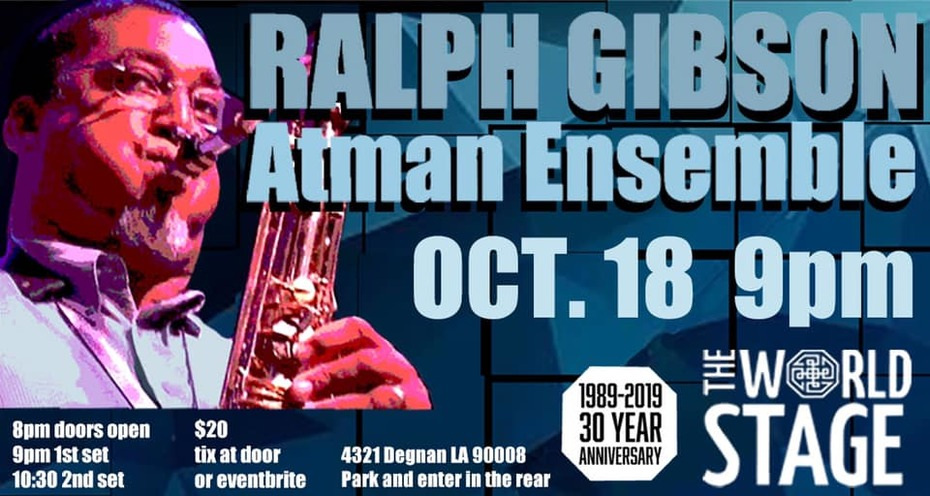 "Atman Ensemble feat. ""Big"" RALPH GIBSON & James LOVE"
