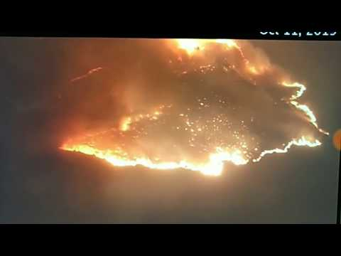 The CA Fires Rage On...,