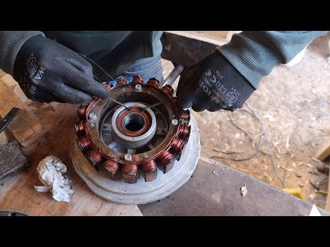 Rebuilding My Diy Micro Hydro Turbine (Bearings failed)