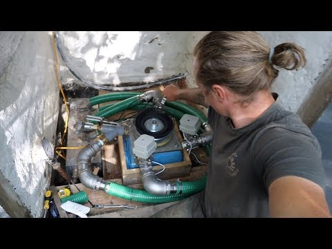 4 Nozzle Off Grid Micro Hydro Turgo Turbine Part 8 First spin Up