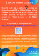 Open Access Week Université de Poitiers