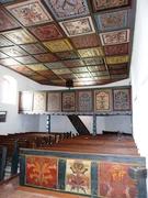 A kórósi református templom kazettás mennyezete (Ormánság)