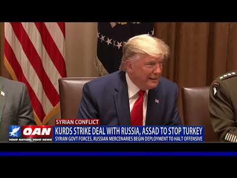 Kurds strike deal with Russia, Assad to stop Turkey