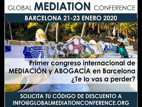 Vídeo 'Global Mediation Conference' (Barcelona, del 21 al 23 de gener de 2020)