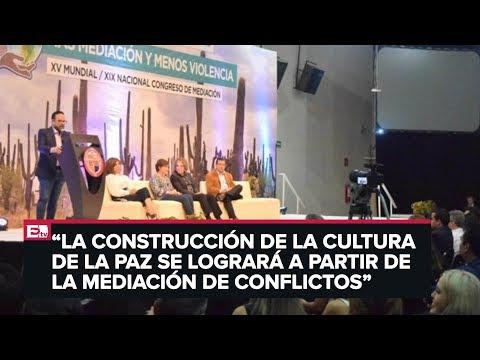 Sonora apuesta a la mediación para la construcción de la paz