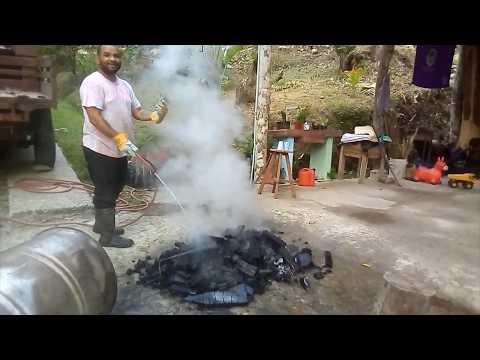 Hacer Carbón Vegetal