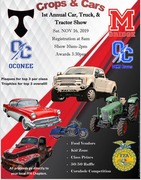 CROPS & CARS - CAR, TRUCK & TRACTOR SHOW