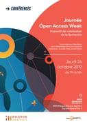 Journée Open Access Week