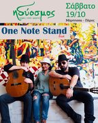 Live Music One Note Stand