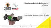 Manufactura Digital, Aplicación de tecnologías de fabricación digital en el desarrollo de un exoesqueleto de miembro superior derecho