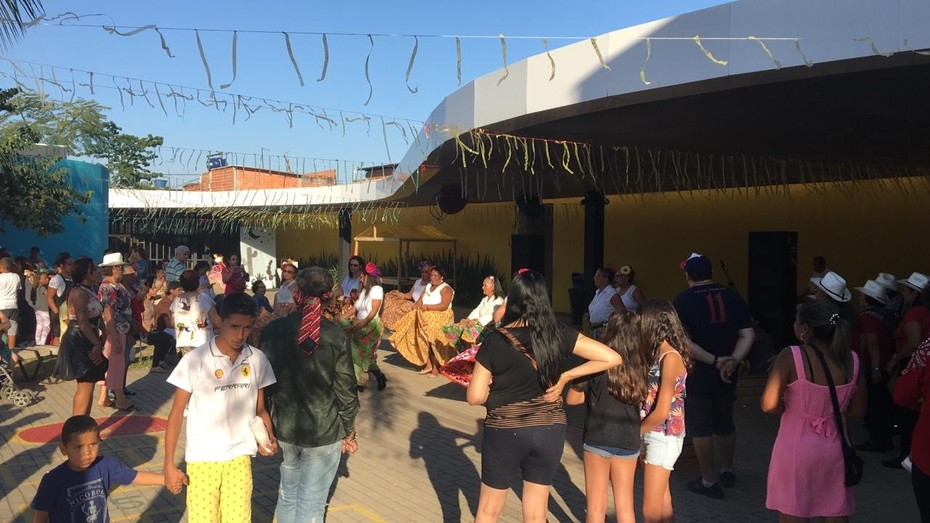 FESTA PANTANEIRA DIA 10/08/2019 NO ESPAÇO ALANA