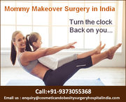 Women making their choices for beauty treatments with mommy makeover
