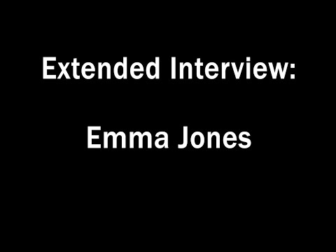 Extended Interview: Emma Jones