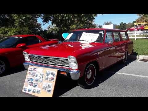 Shopping the Car Corral  5  At the  2019 AACA Fall Meet Hershey