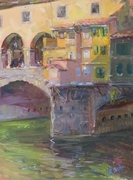 Morning on Ponte Vecchio
