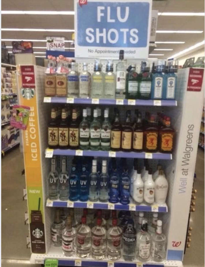 Remember to get your flu shot.