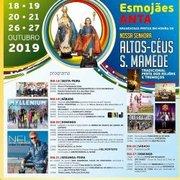 FESTAS: Nª SRª ALTOS CÉUS E S.MAMEDE 2019