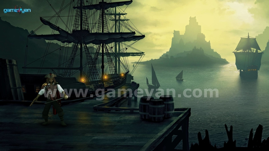 Morgan Pirates Character Modeling By Game Outsourcing Company