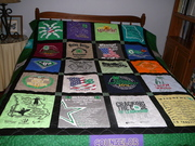 Ryli's T-shirt Quilt 2019