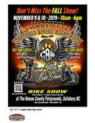 Charlotte CBA Fall Bike Show & Swap Meet -Salisbury, NC