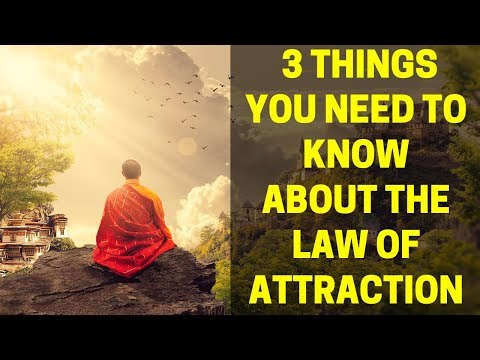3 Key Things About the Law of Attraction you Should Know