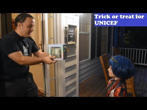Wes Iseli's Magic of Giving Project #31 (Trick or Treat for UNICEF)