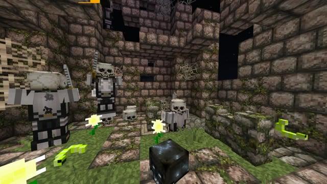 Disco Skeletons Minecraft 1.14 Mod