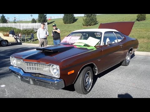 "Francis' 1973 Dodge Dart ""I Ordered It This Way"" At the 2019 AACA Fall Meet, Hershey"