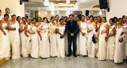 Sandeep Marwah Attending Mrs India Worldwide Greece